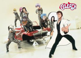 Greased Aizen by Celtzombie