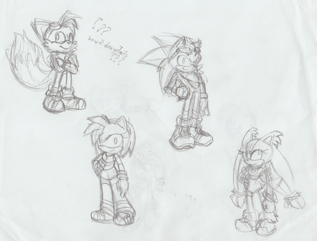 More Riders Redesigns by LillyGeneva