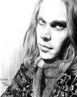 Ville Valo - HIM by pikkuclara