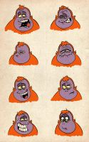faces of clyde by chunkysmurf