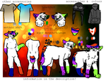 Official Rainy Ref Full by CoyoteChalk