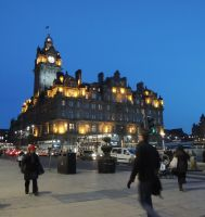 Balmoral Hotel,Edinburgh by piglet365