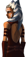 New look Ahsoka Backside by Raikoh-illust