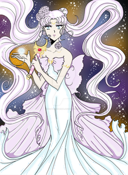 Queen Serenity- Commission by CaptainKurima