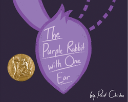 The Purple Rabbit with One Ear - Front Cover by KYMSnowman