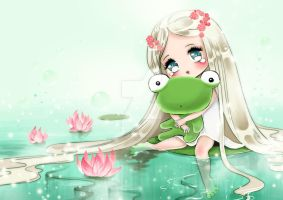 Frog Pond by Fiorina-Artworks