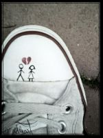 broken converse by ADMArt
