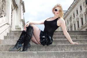 Blond bombshell stock 37 by Random-Acts-Stock