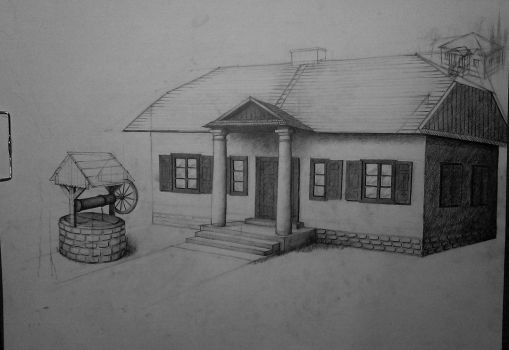 Manor house (not finished) by Ewwwa