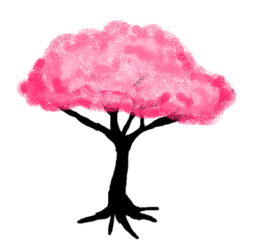 Cherry Blossom Tree by XfangheartX