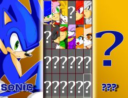 Select Your Character by ss2sonic