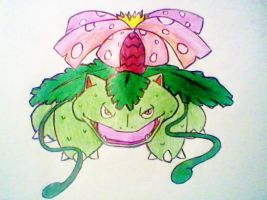 Venusaur use VineWhip! by AZURA-FANG