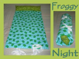 Froggy Night by UrsulaPatch