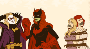 Bat Ladies by duskflare