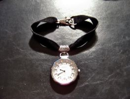 Pocket Watch Choker by shadowsport313