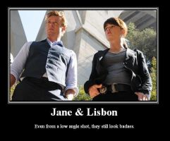 Jane and Lisbon by BloodRose1993