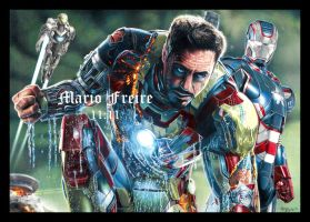 Iron Man III by mario-freire