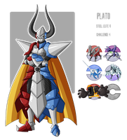 Fakemon: elite 4 - No. 4 Steel by MTC-Studio