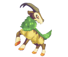 Random Pokemon [Gogoat] by Entin