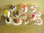 Dessert Table top view 1-12 by Snowfern