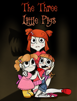 The Three Little Pigs Title Page by BaldDumboRat