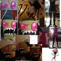 Invader zim head part 3 by sedra60