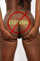 No Clothing Ass by csp-media
