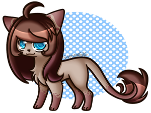 Art Trade - GigiTheGirafe by Sandra626