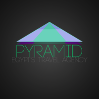 Pyramid travel agency - Logo by bioxyde