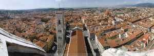 panorama - florence by CrystalGraphic