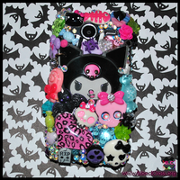Kuromi Phone Case by BloodCross