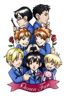 Ouran High Fan Badge by ScuttlebuttInk
