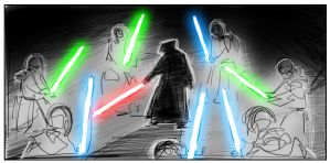 the Jedi Incursion-storyboard1 by coolkatcasey
