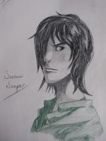 Young Severus Snape by shadowedshards