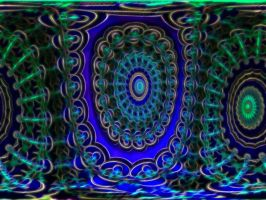 Fluffy 3D mandala by PhotoComix2
