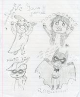 Young Justice sketches by mxm2