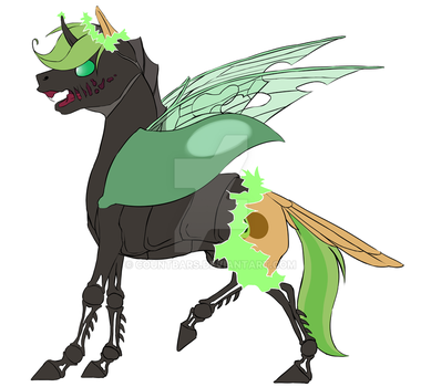 Changeling can... change? by countbars