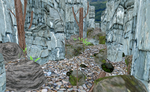 MMD Hidden nature hideout by amiamy111
