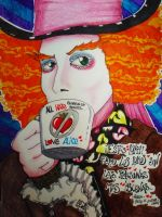 That Crazy Mad Hatter by LinaPrime
