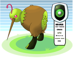 Grass Starter - FIRST FAKEMON by Gymjack