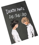 Death Note Clock Rainmeter by S4Pabl0