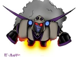 Blitzwing -Flying- by DJ-MegaTron