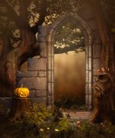 Halloween background 2 by moonchild-ljilja