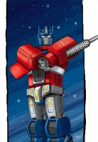 Request: Optimus Prime. by iennisita