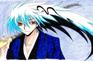 Rikuo coloured by Claybirdies
