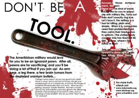 Don't Be a Tool by ztk2006