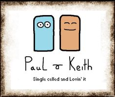Paul And Keith by megabunny