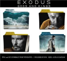 Exodus Gods and Kings (Folder Icon Pack) by Llyr86