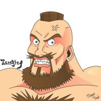 Zangief by Kaio-Silva