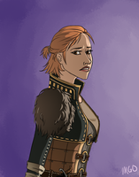 Miss Anders by MariahGem